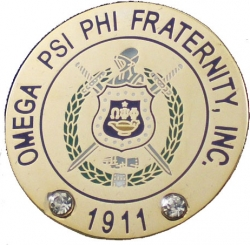 View Buying Options For The Omega Psi Phi Fraternity, Inc. Rhinestone Lapel Pin