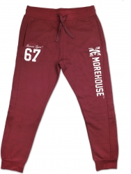 View Buying Options For The Big Boy Morehouse Maroon Tigers Mens Jogger Sweatpants