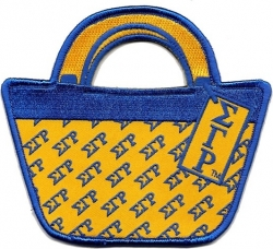 View Buying Options For The Sigma Gamma Rho Purse Shaped Luggage Tag