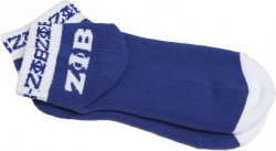 View Buying Options For The Zeta Phi Beta Ladies Pair Ankle/Bootie Socks