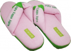View Buying Options For The Alpha Kappa Alpha 1908 Thong Flip Flop Ladies House Shoes