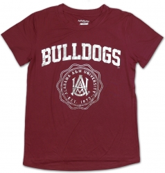 View Buying Options For The Big Boy Alabama A&M Bulldogs S3 Ladies Jersey Tee