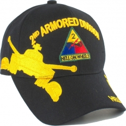 View Buying Options For The 2nd Armored Division Hell On Wheels Shadow Mens Cap