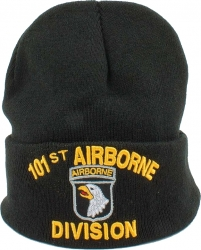View Buying Options For The 101st Airborne Division Mens Cuff Beanie Cap