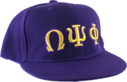 View Buying Options For The Omega Psi Phi 3D Mens Fitted Cap