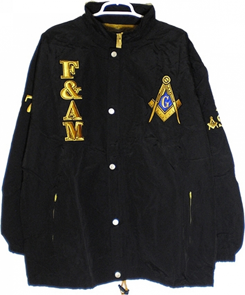7c0a6e8d8320 Buffalo Dallas Prince Hall Mason F AM Mens All-Weather Windbreaker ...