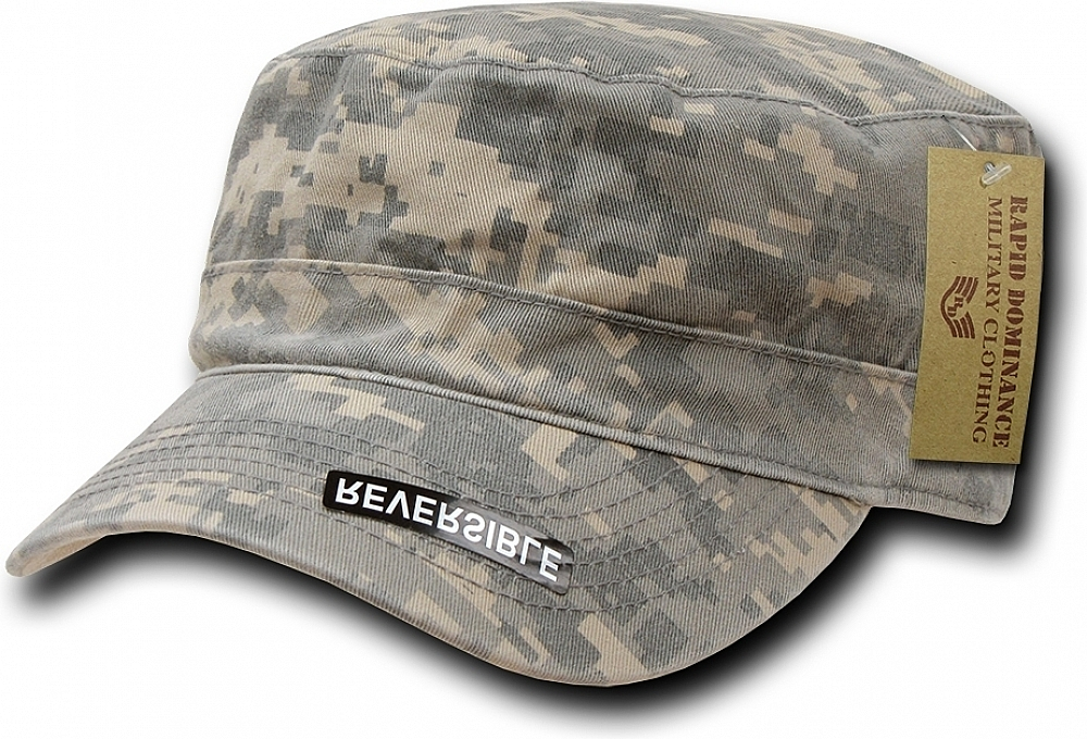 RapDom Reversible Flat Top Mens Cadet Cap