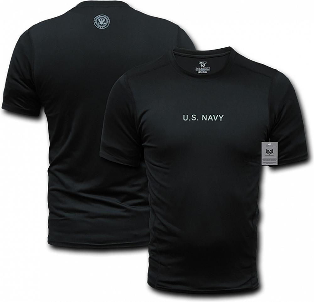 RapDom Navy RapidCool Performance Mens T-Shirt