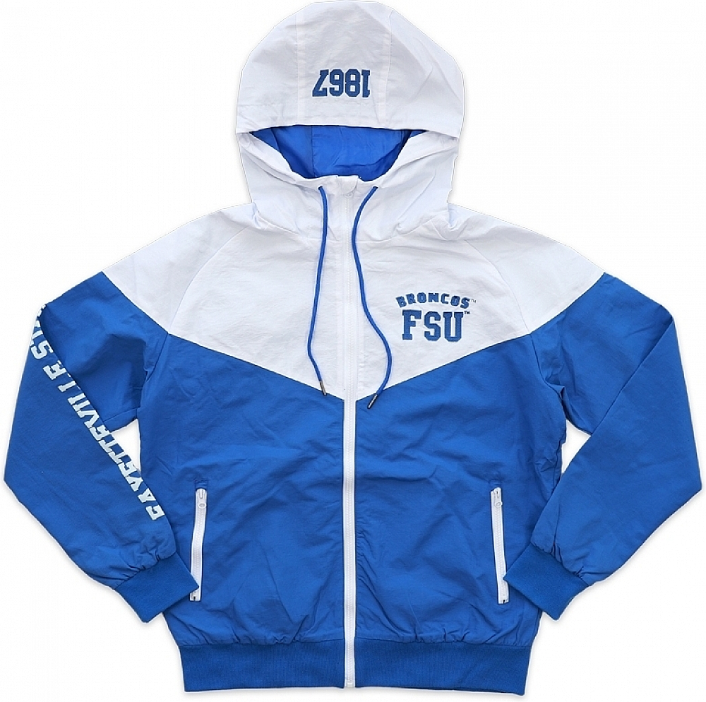 Big Boy Fayetteville State Broncos S4 Mens Windbreaker Jacke