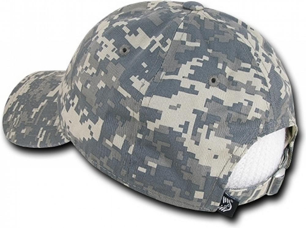 RapDom Tonal US Flag Graphic Relaxed Mens Cap