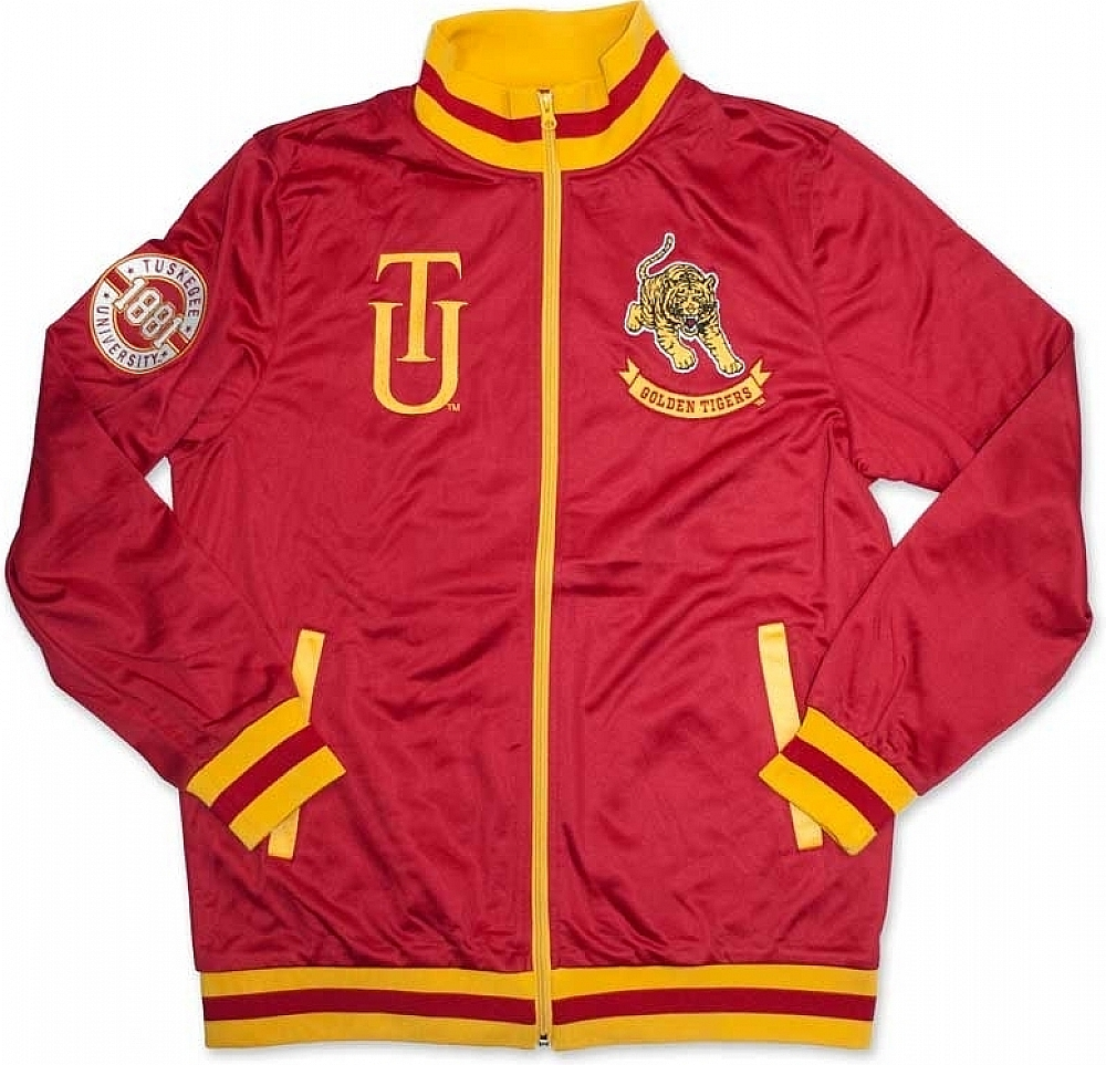 Big Boy Tuskegee Golden Tigers Mens Jogging Suit Jacket