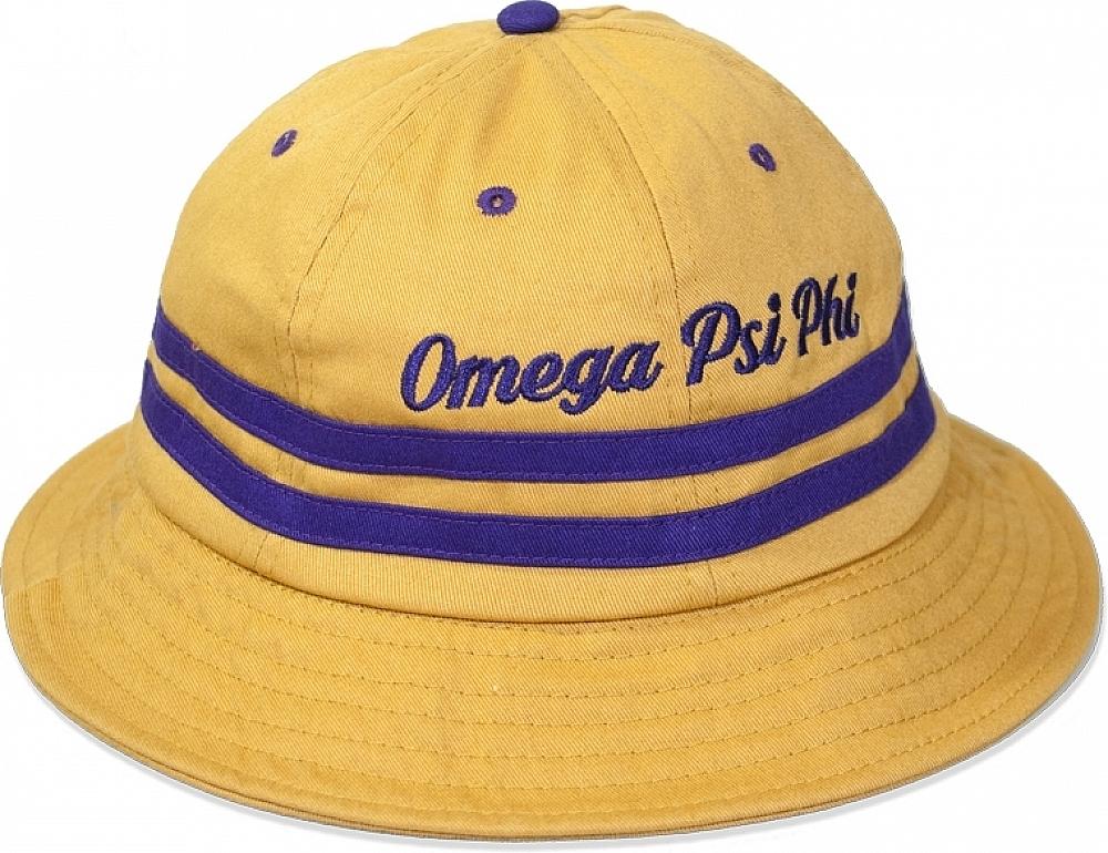 Big Boy Omega Psi Phi Divine 9 S4 Mens Bucket Hat  30756a058be