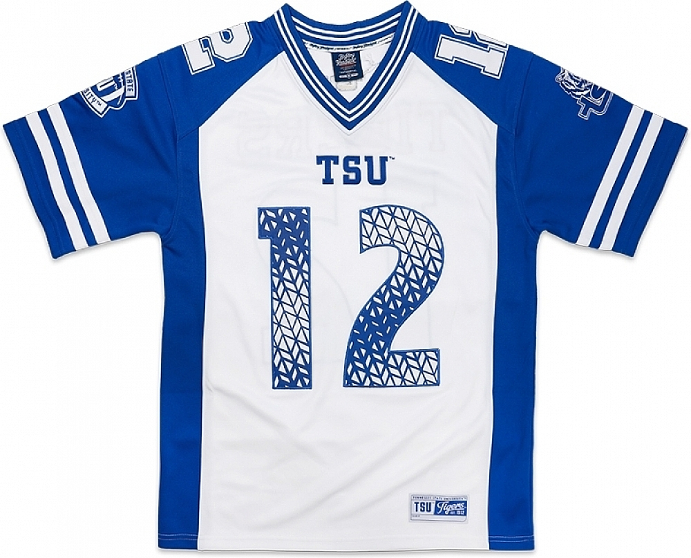 buy popular 5c70e 1d9fe Details about Big Boy Tennessee State Tigers S10 Mens Football Jersey