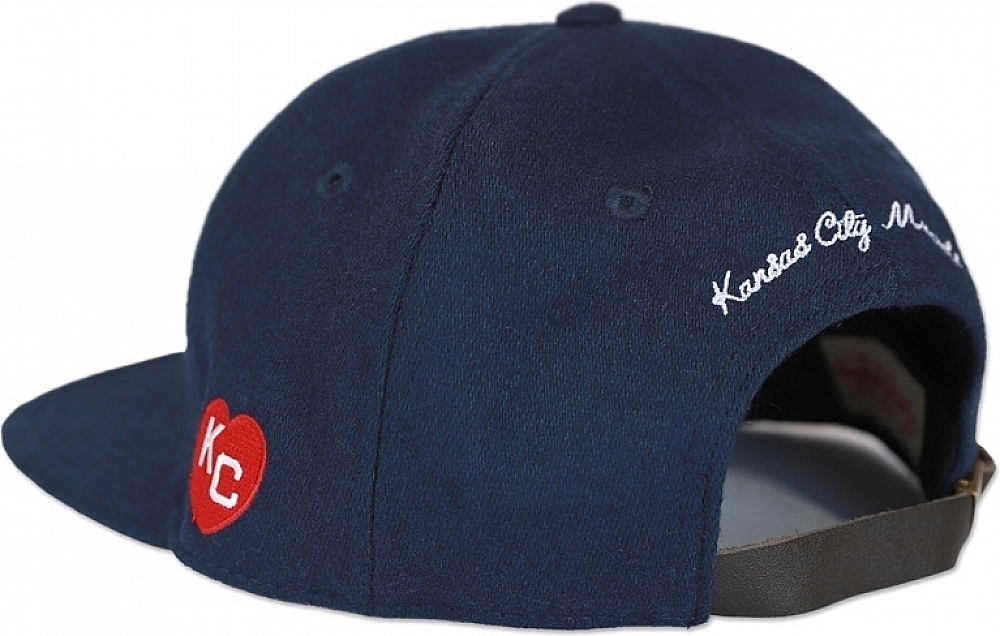 Big Boy Kansas City Monarchs NLBM Heritage Mens Wool Cap